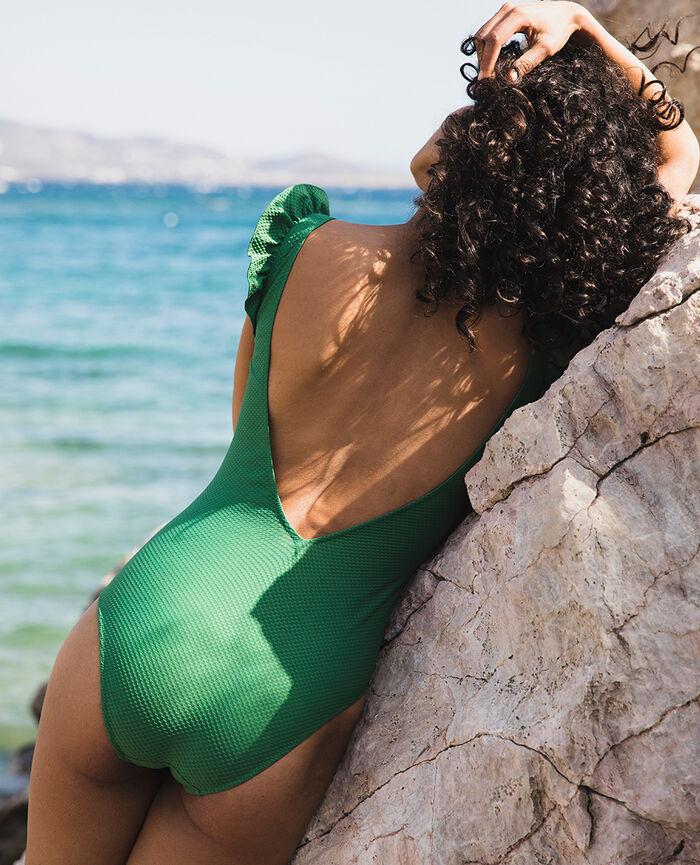 Maillot de bain une pièce Vert menthe Farah