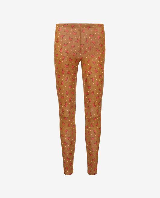 Leggings Croissant brown Tamtam shaker