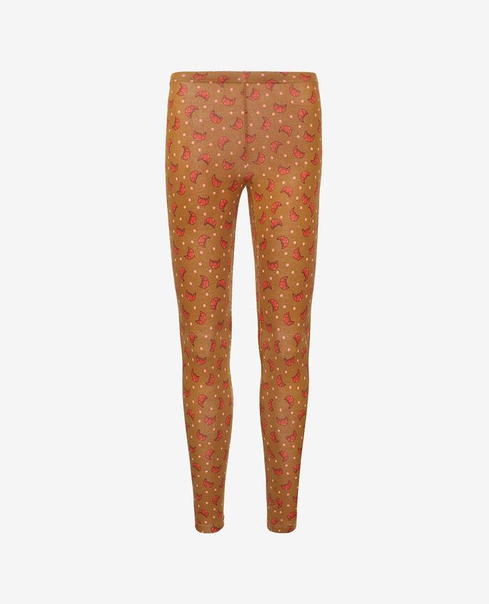 Legging Croissant brun Tamtam shaker