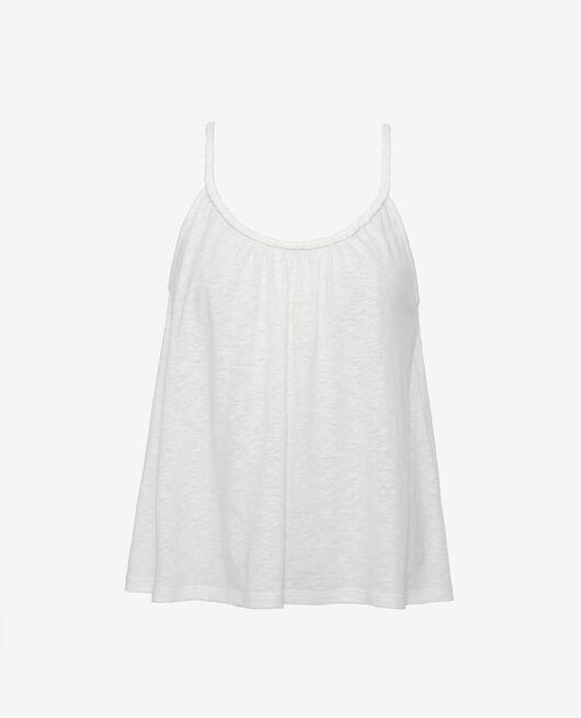 T-shirt sans manches Ivoire Argan