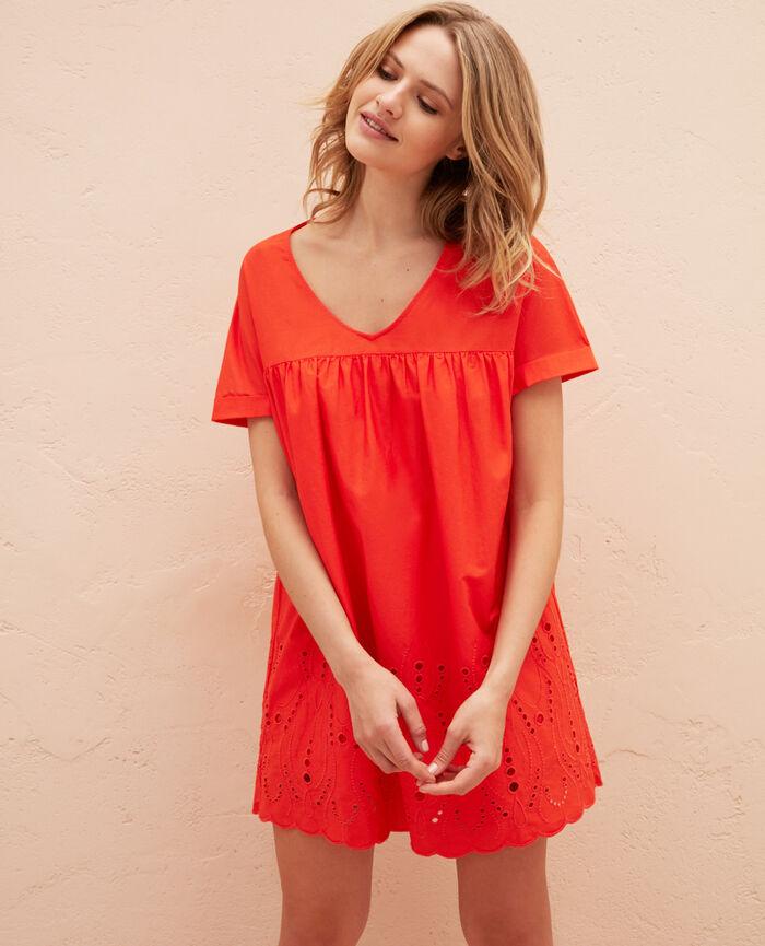Robe Orange sanguine Sabbah