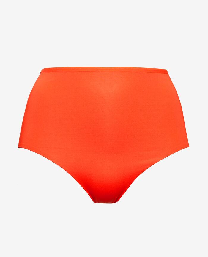 High-waisted swim briefs Blood orange Tiwizi