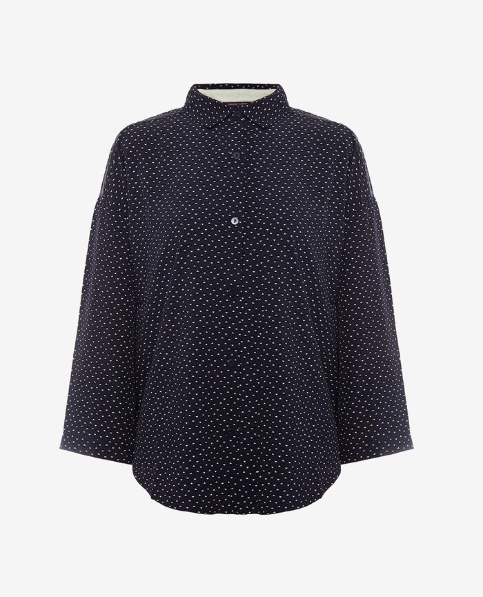 Pyjama jacket Willie blue Darling