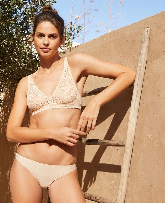Culotte taille basse Beige nude Josephine