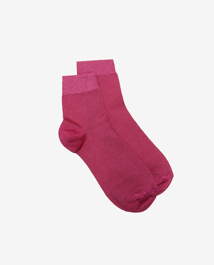Socks Pink flake Glow