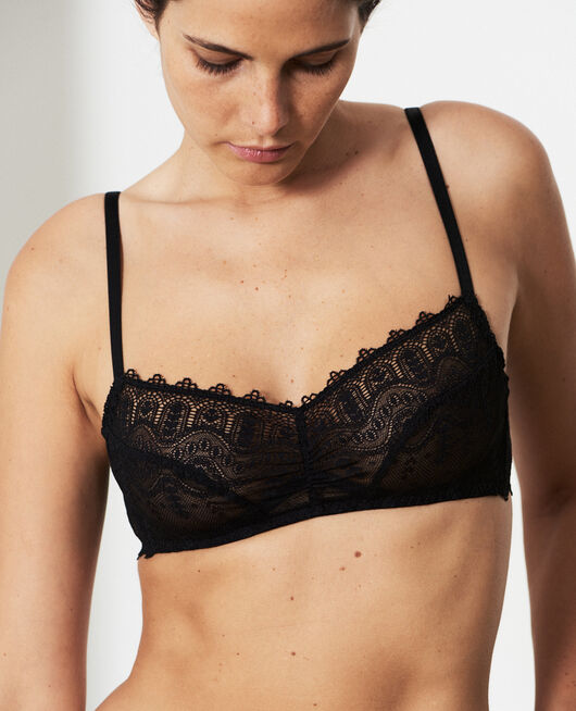 Balcony bra Black Amour