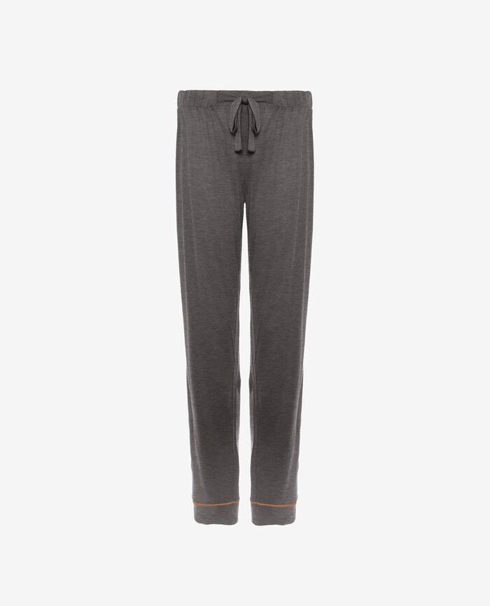 Pyjama trousers Cloud grey Latte
