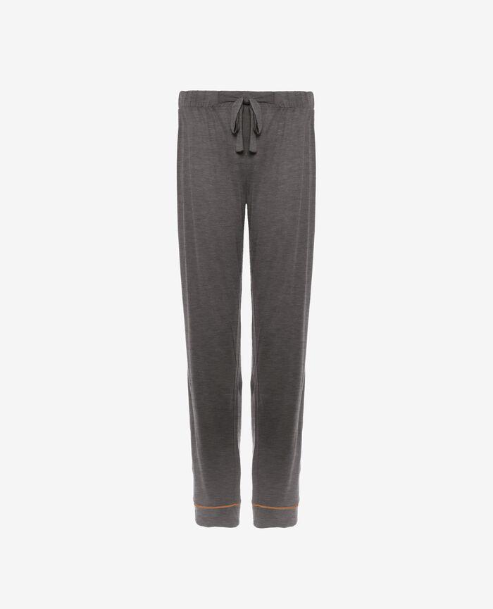 Pyjama trousers Cloud grey Latte