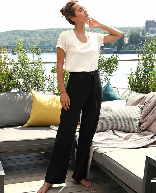 Pantalon Noir Soft