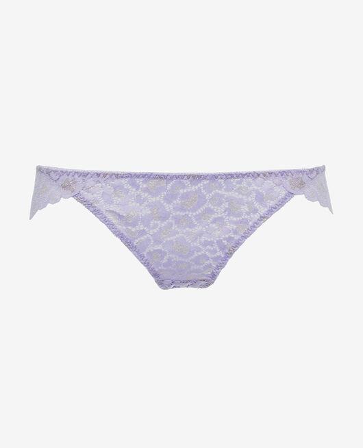 Culotte taille basse Violet fantaisie Feline