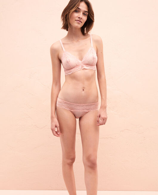 High-cut briefs Pink cloud Esquisse