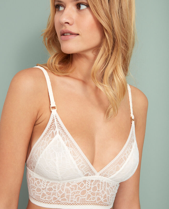 Soft cup bra Rose white Manhattan