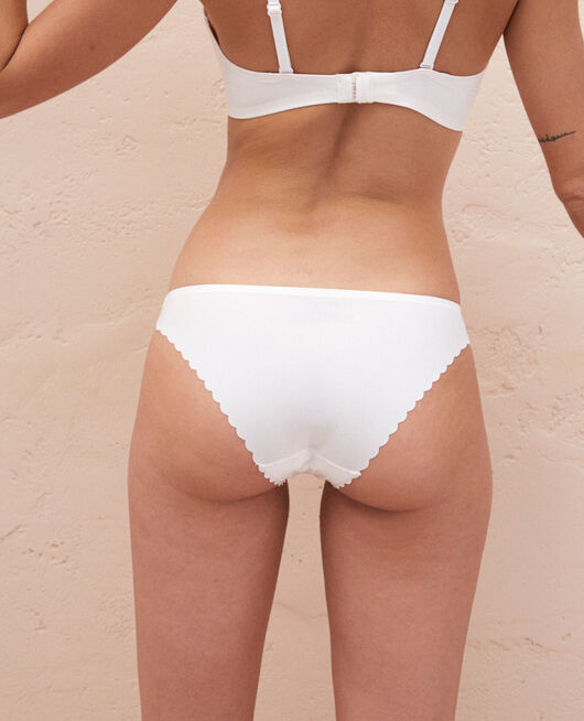 Culotte taille basse Blanc rosé Secret