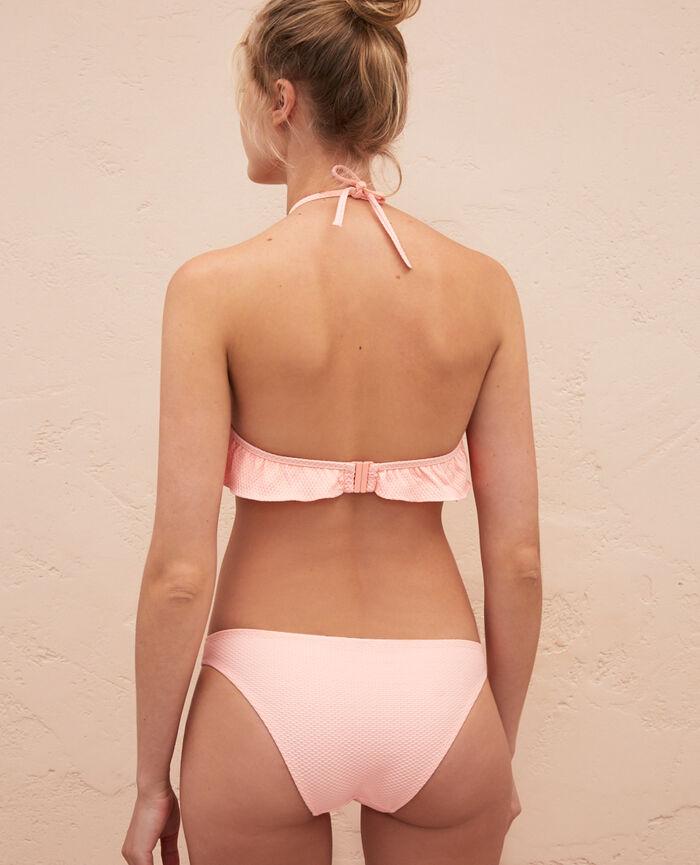 Strapless bikini top Pink gazelle Farah