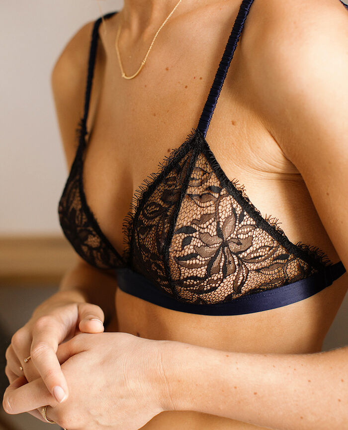 Soft cup bra Black Epice