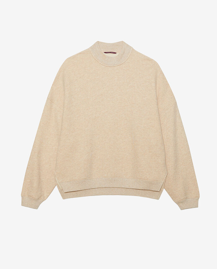 Sweater Flecked beige Doudou
