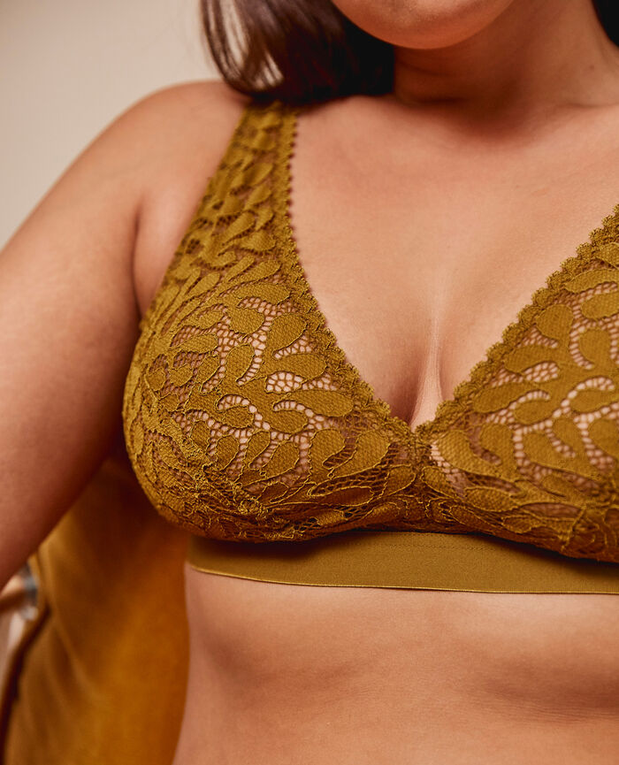 Soft cup bra Cocktail brown Oisive