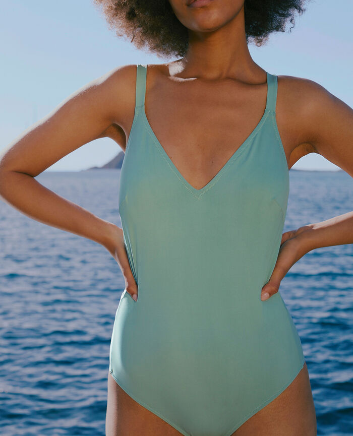 Swimsuit Ether green Impala
