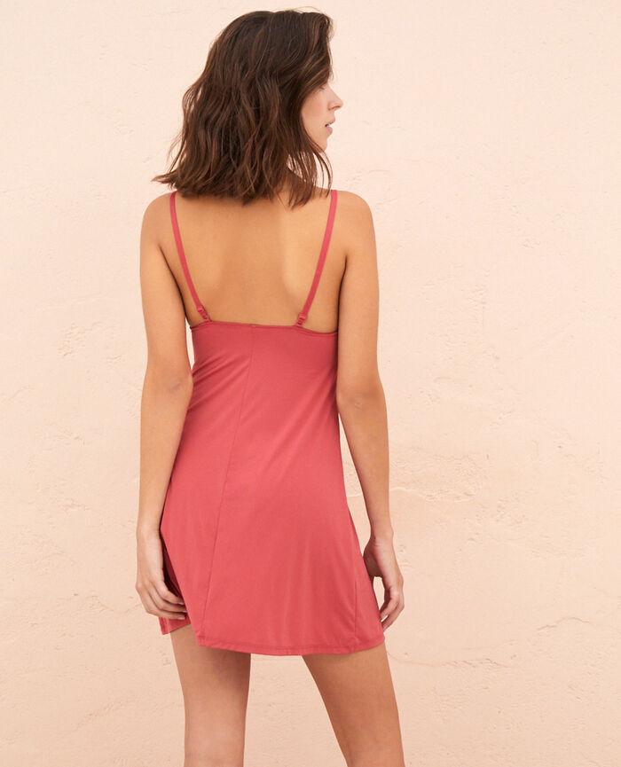 Slip dress Peony red Take away