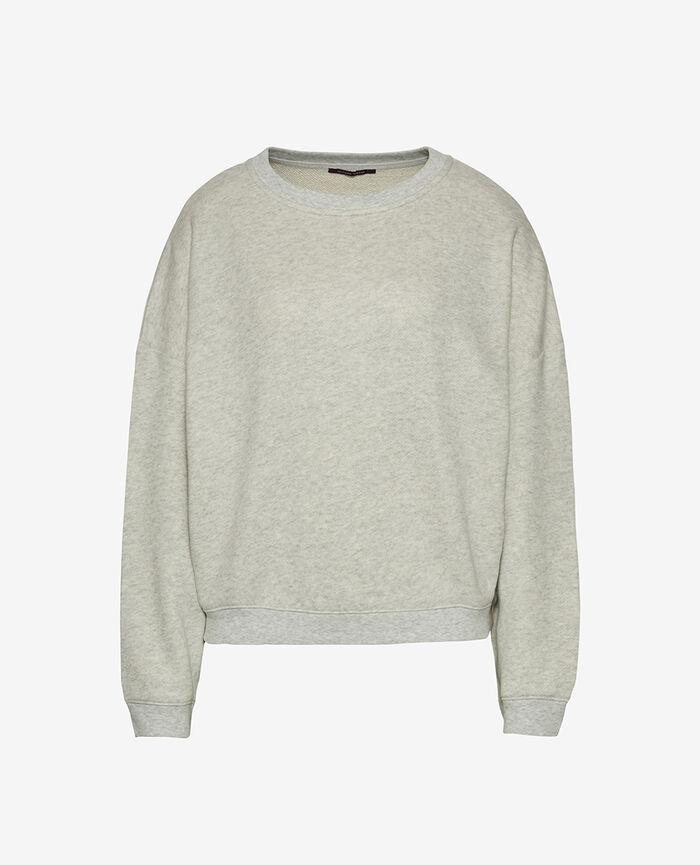 Sweater Flecked grey Doudou