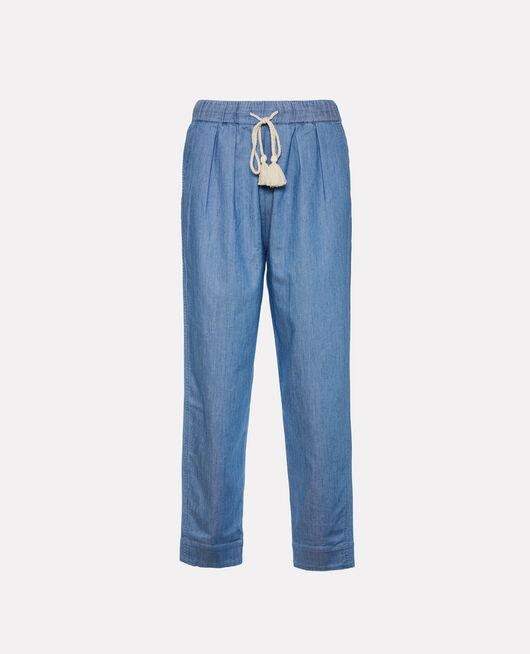 Trousers Denim blue Medina