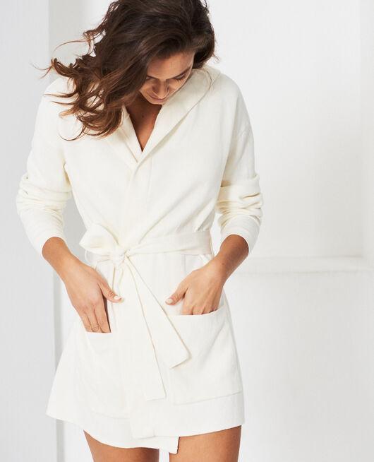 Long-sleeved cardigan Ivory Naturel