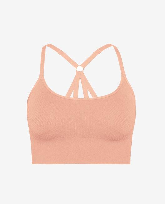 Sports bra light support Iced pink Yoga