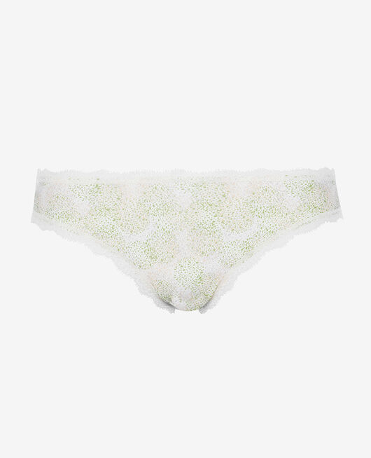 Culotte taille basse Pointillisme ivoire Take away