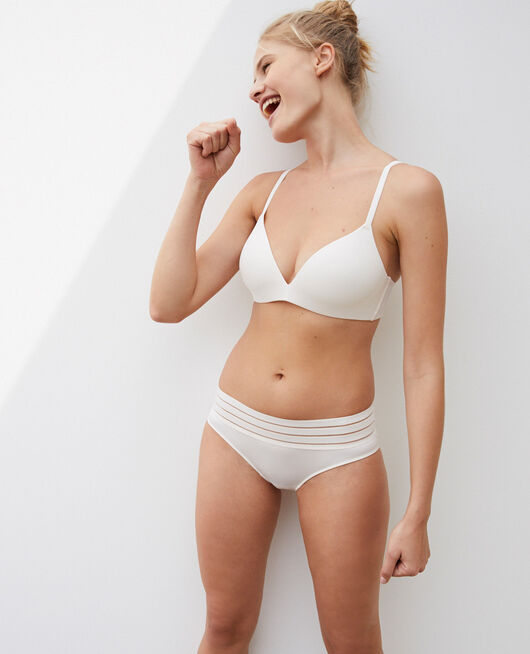 Shorty Blanc rosé Air lingerie