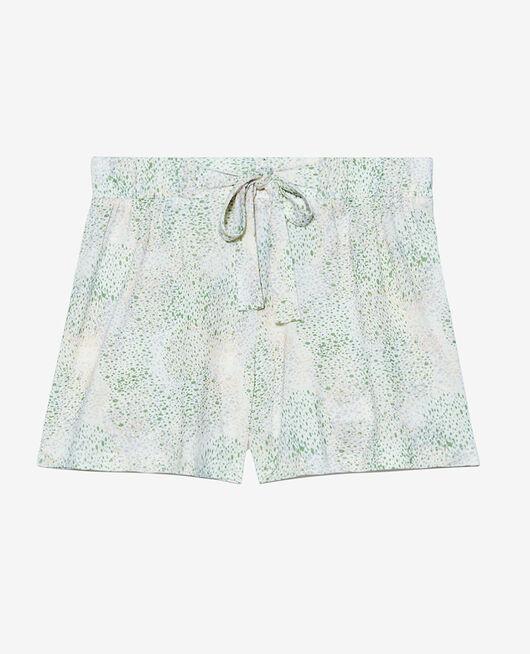 Short de pyjama Pointillisme ivoire Tamtam shaker