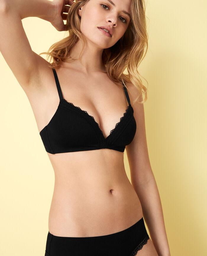Spacer soft-cup bra Black Air lingerie