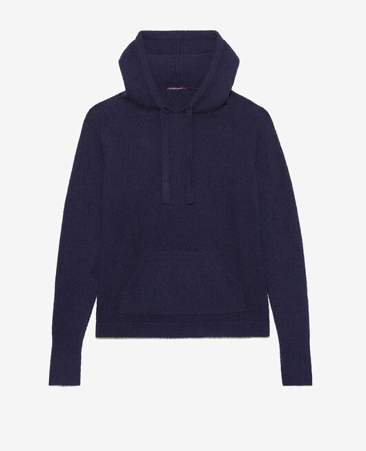 Sweatshirt with hoodie Navy Vip