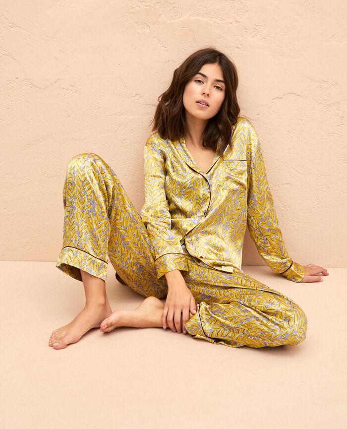 Veste de pyjama Feuillage Foglio