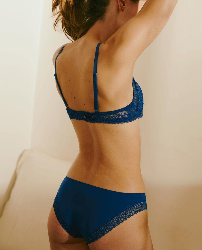 Wireless padde bra Deckchair blue Evidence - the be cool