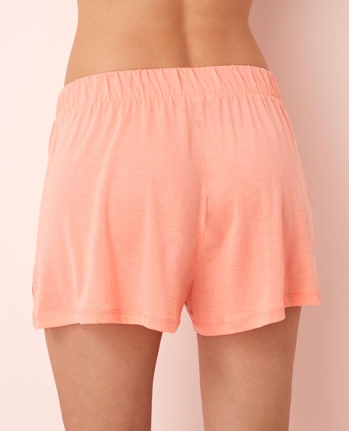 Pyjama shorts Grapefruit pink Latte