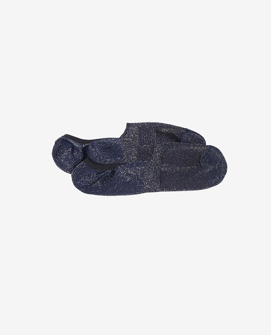 Chaussettes invisibles Bleu marine Glitter