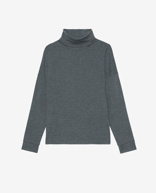 T-shirt manches longues Gris chiné Heattech© lounge