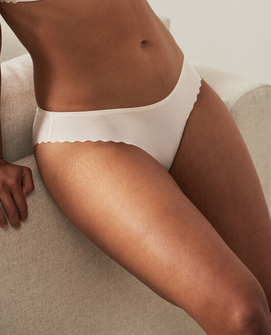 Hipster briefs Rose white Secret
