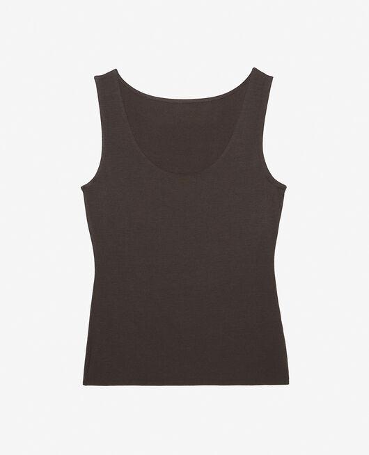 T-shirt sans manches Gris brume Heattech© innerwear