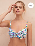 Concealed underwired strapless bikini top Multicolour Kif kif