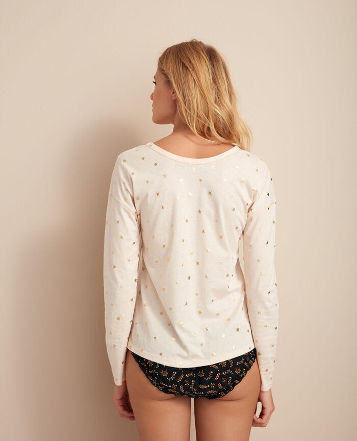 Long-sleeved t-shirt Nova ivory Magic
