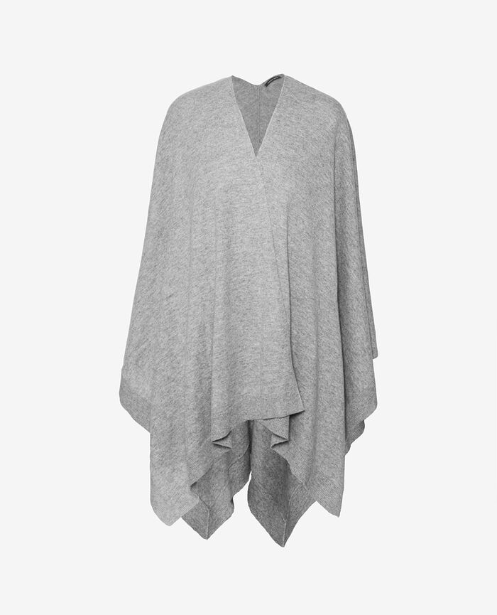 Poncho Grey Icone
