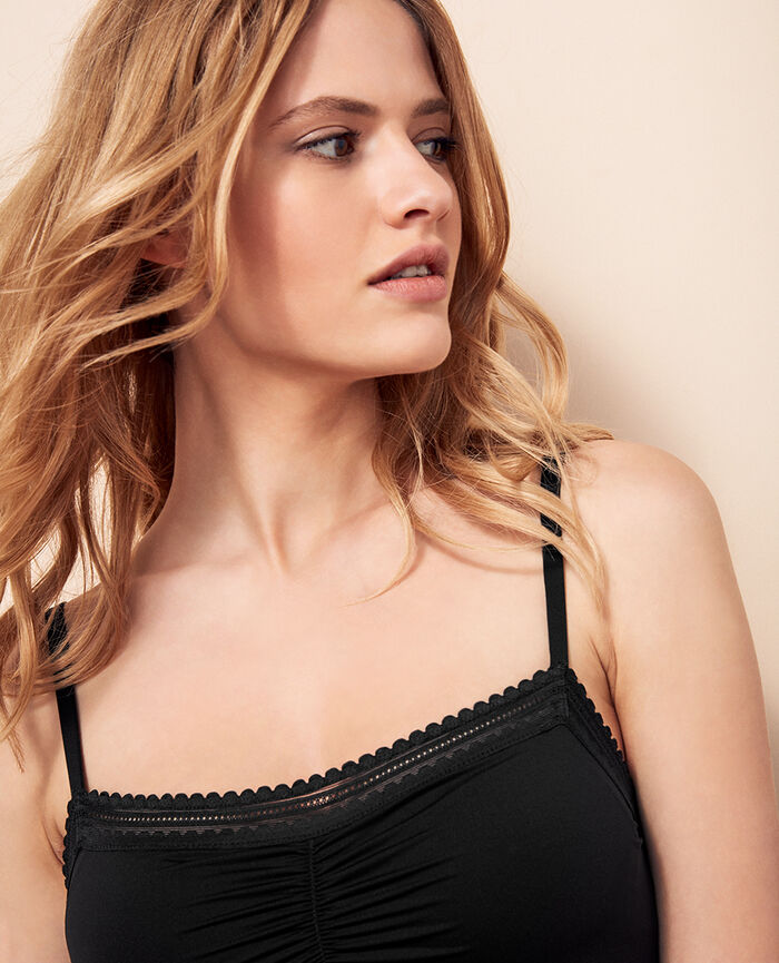 Dress with built-in bra Black Beaute