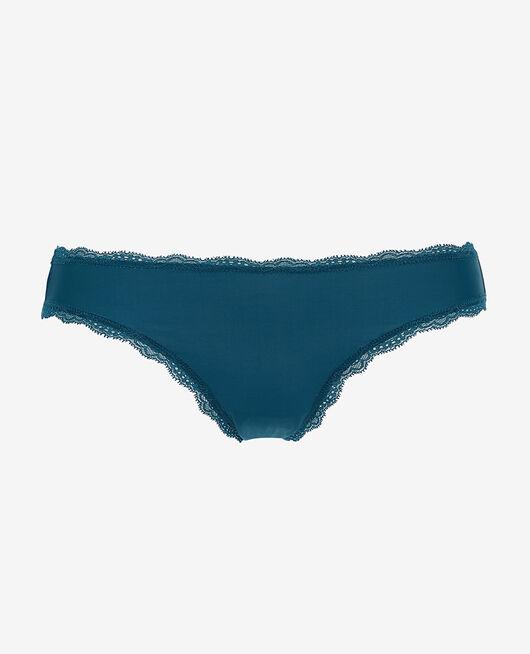 Culotte taille basse Bleu jazz Take away