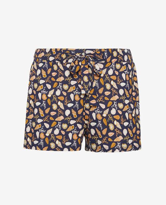Short de pyjama Coquillage bleu marine Tamtam shaker