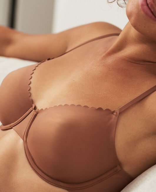 Underwired bra Nutmeg brown Secret