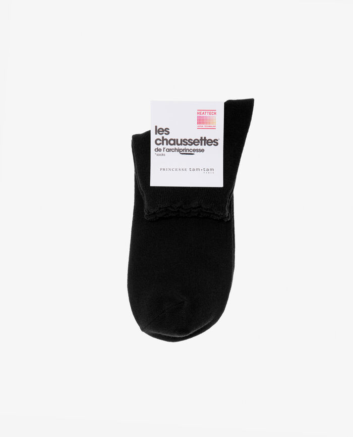 Socks Black Feminine