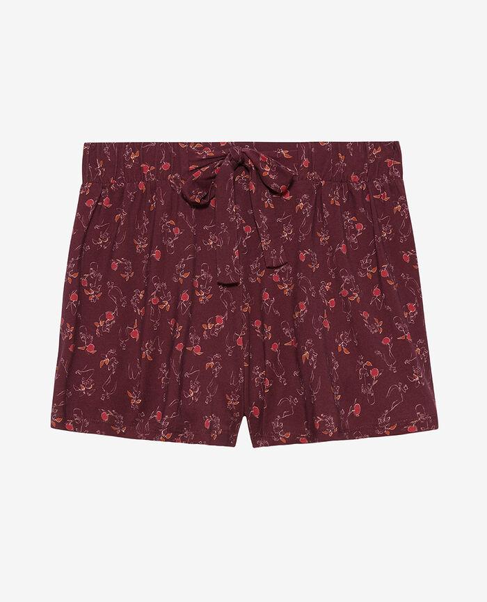 Pyjama shorts Plum vase Tam tam shaker