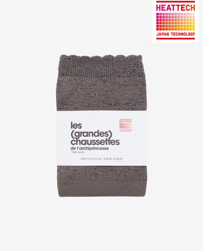 Leg warmers Steel grey Sparkle