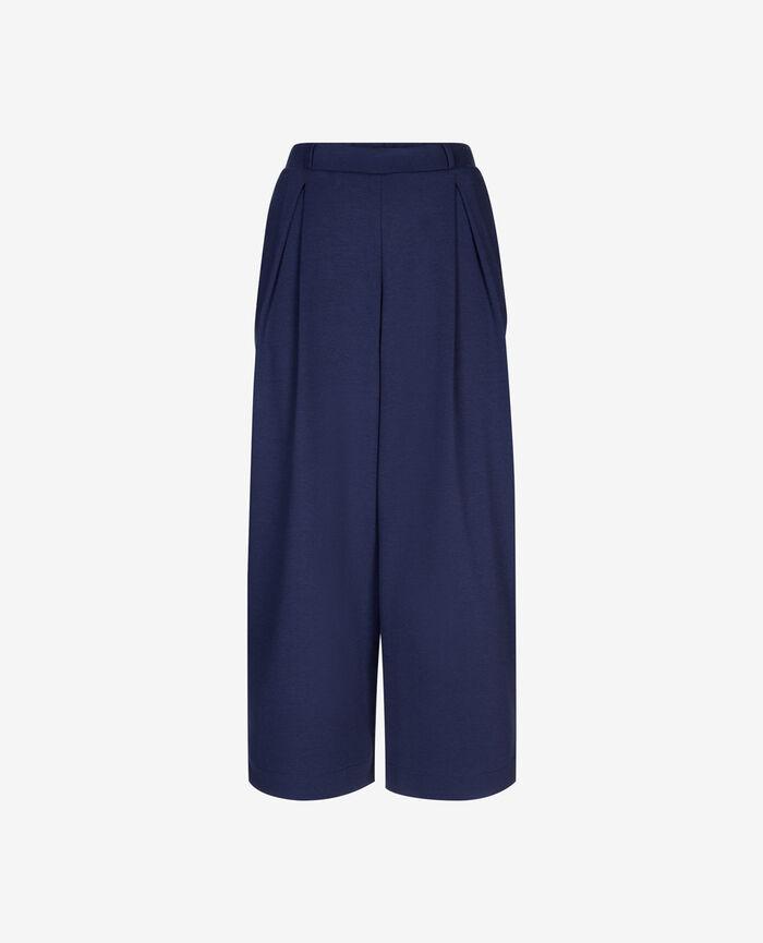 Pantalon gaucho Bleu abysse Neptune